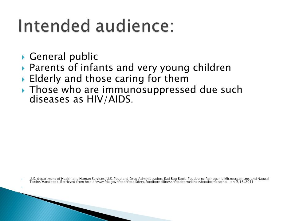 General public Parents of infants and very young children Elderly and those caring for them Those who are immunosuppressed due such diseases as HIV/AIDS.