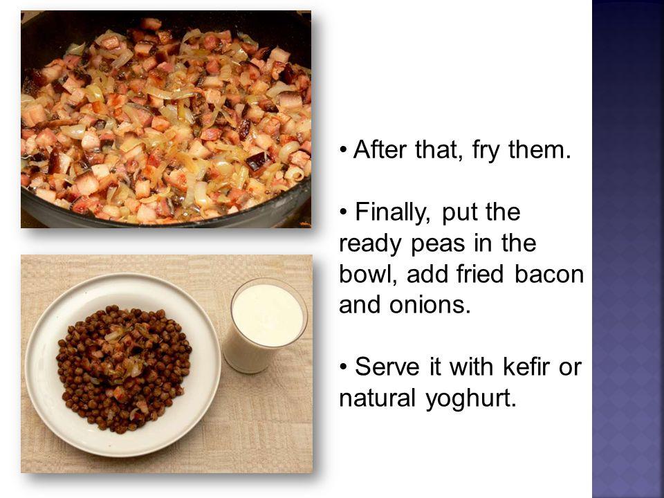 sauerkraut bacon garlic bay-leaves sugar black peppers Ingredients:
