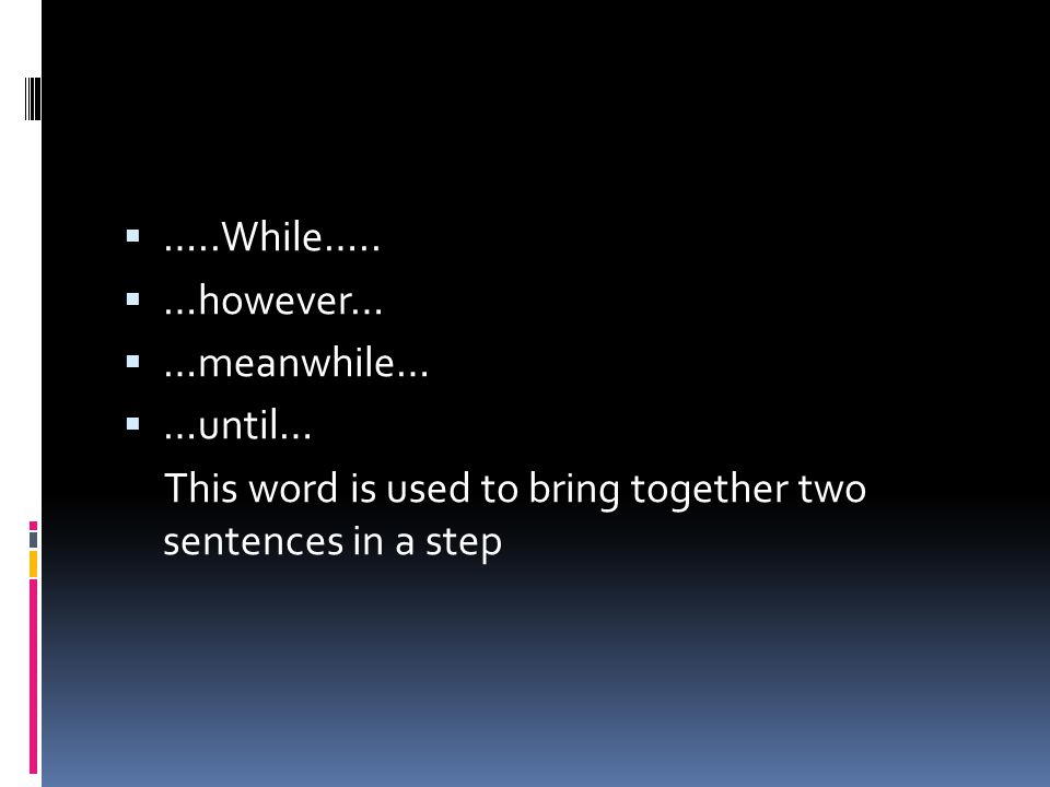 Example of Procedure Text