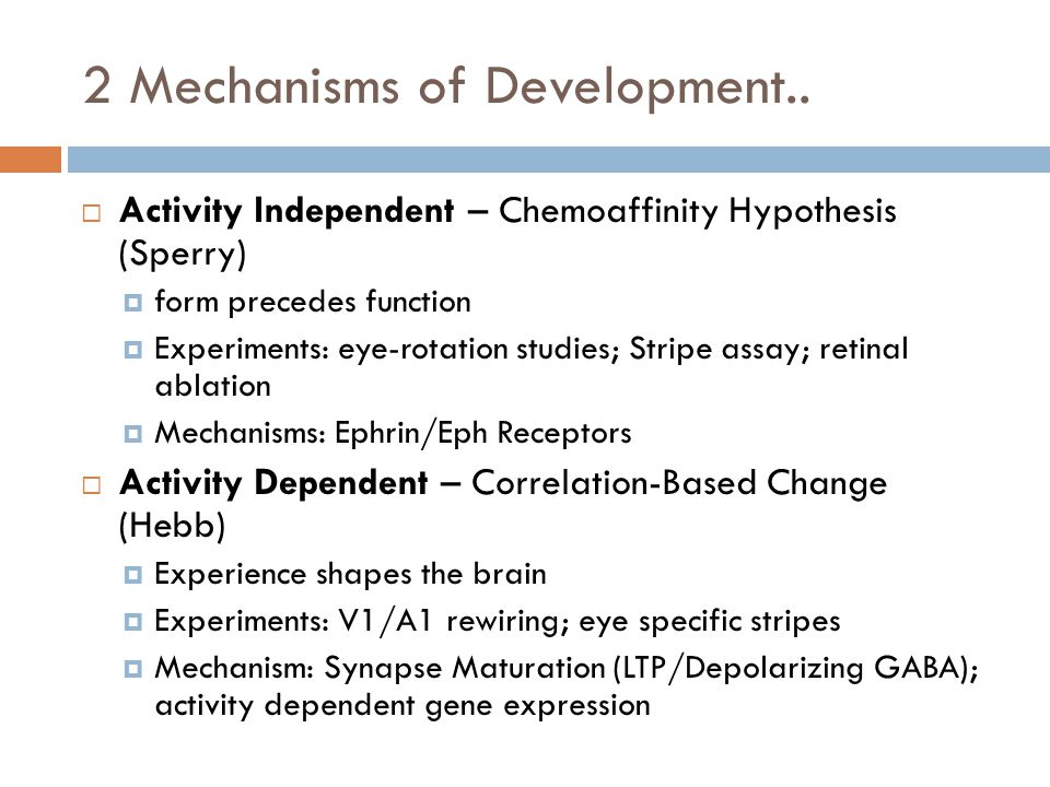 2 Mechanisms of Development..
