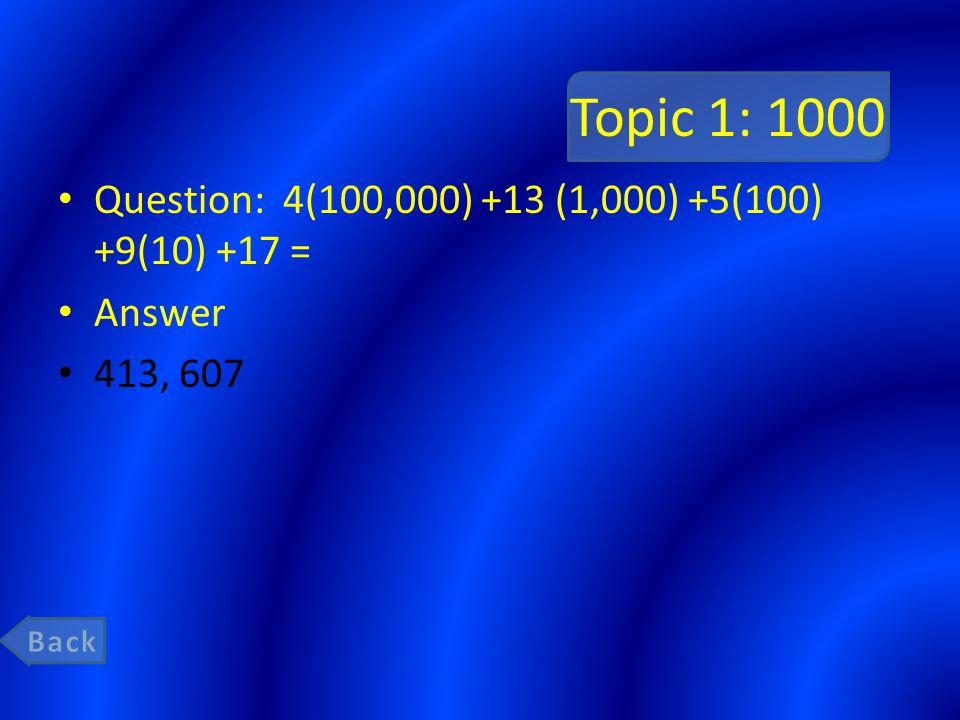 Topic 2: 200 Question: Write an equivalent division sentence for this multiplication sentence: 42 X = 210 Answer 210 ÷ 42 =