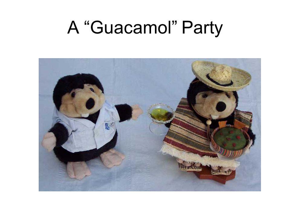 A Guacamol Party