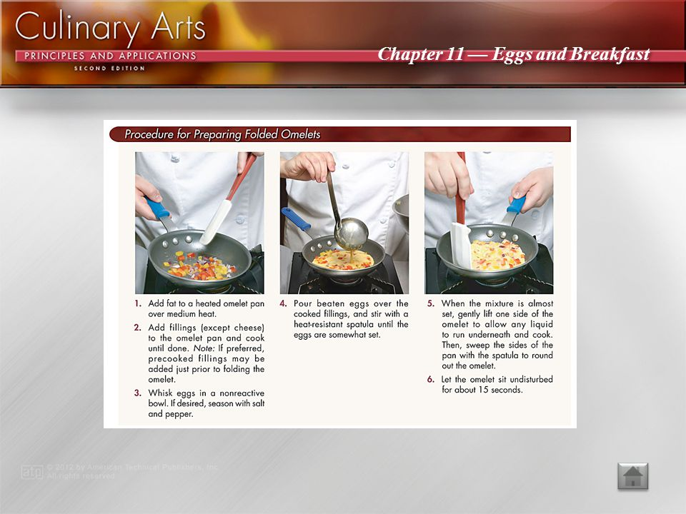 Chapter 11 Eggs and Breakfast