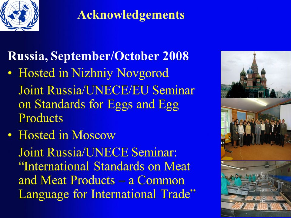 Acknowledgements Special thanks to Victor Gouschin, Andrei B.