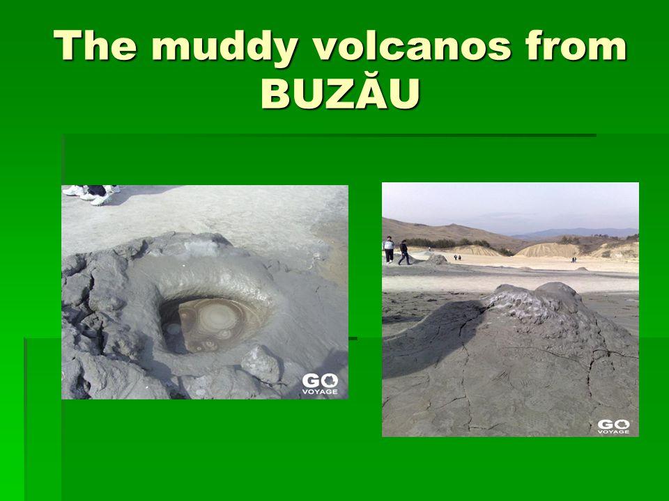 The muddy volcanos from BUZĂU