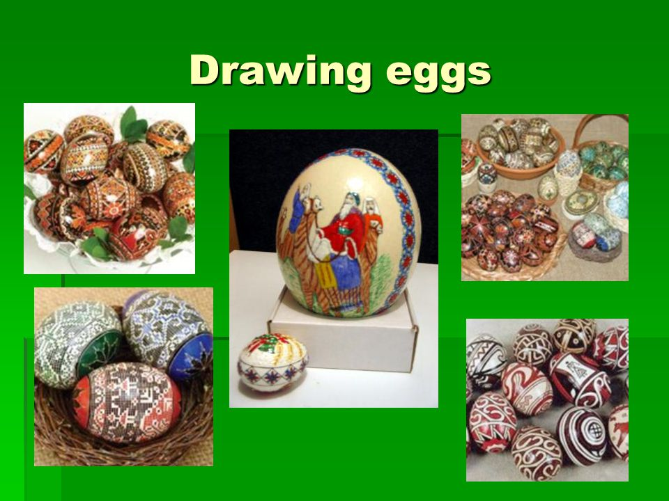 Encrusted eggs with beads