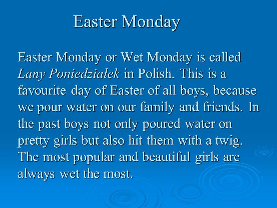 Wet Monday in Poland