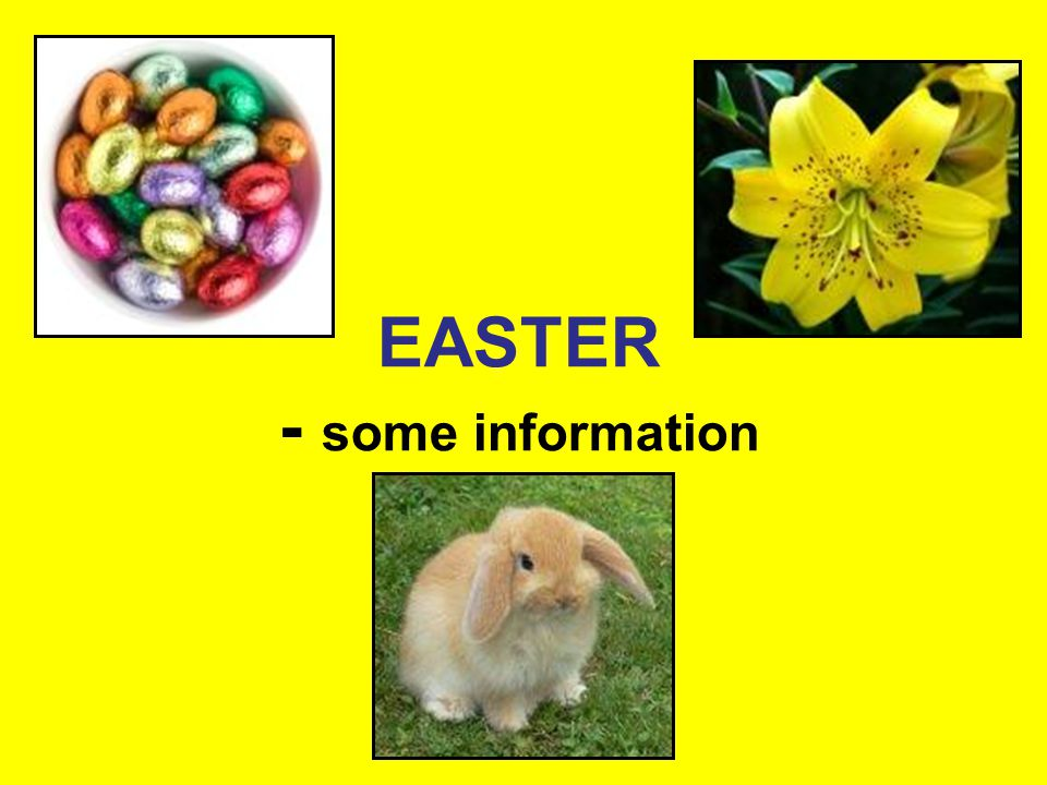 Easter is a joyful spring festival which celebrates the rebirth of Jesus.