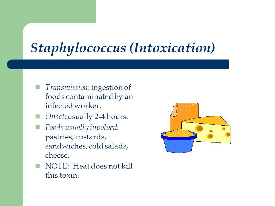 E.Coli 0157:H7 (bacteria) Transmission : ingestion of contaminated food.