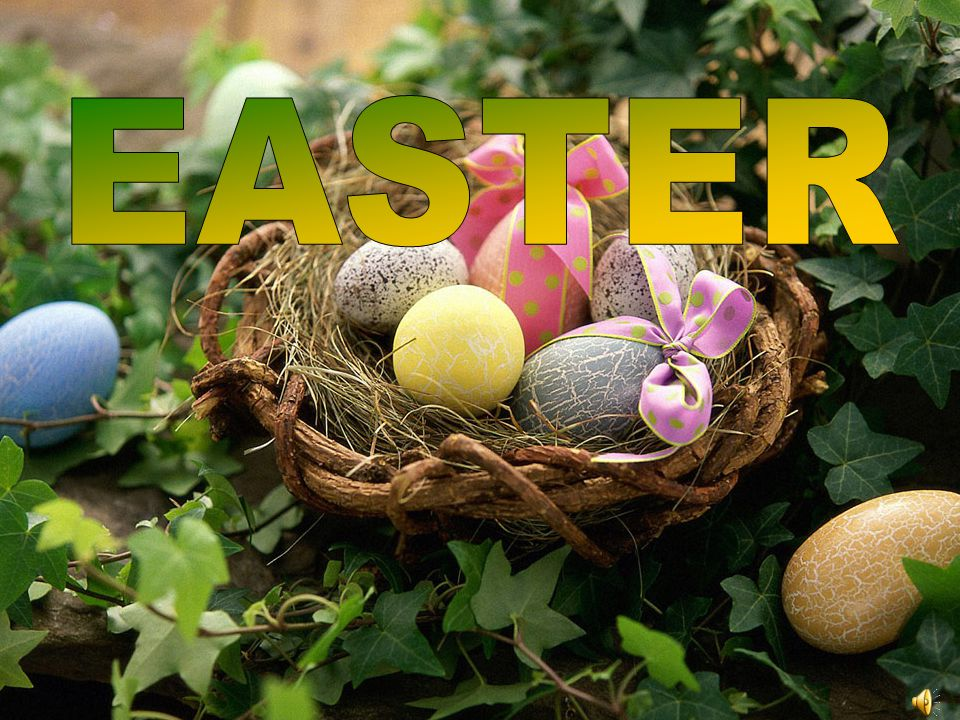 The Christian festival of Easter celebrates the resurrection (the return to life) of Jesus Christ.