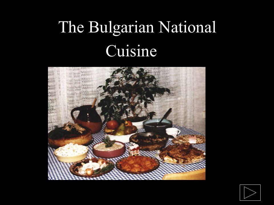 The Bulgarian National Cuisine