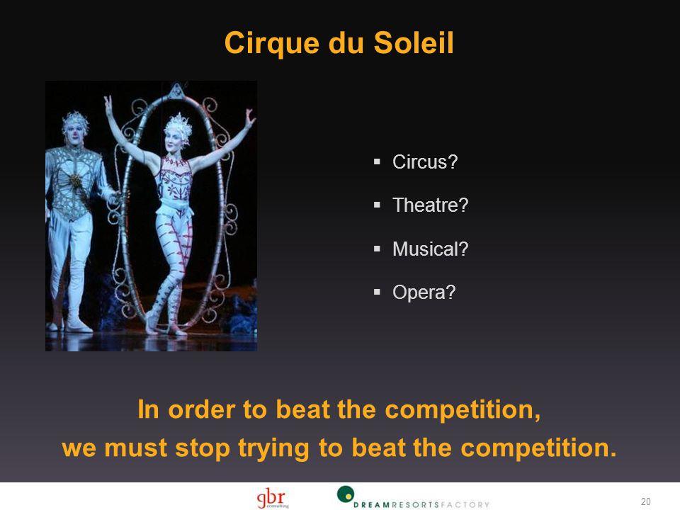 Cirque du Soleil 20 Circus.Theatre. Musical. Opera.