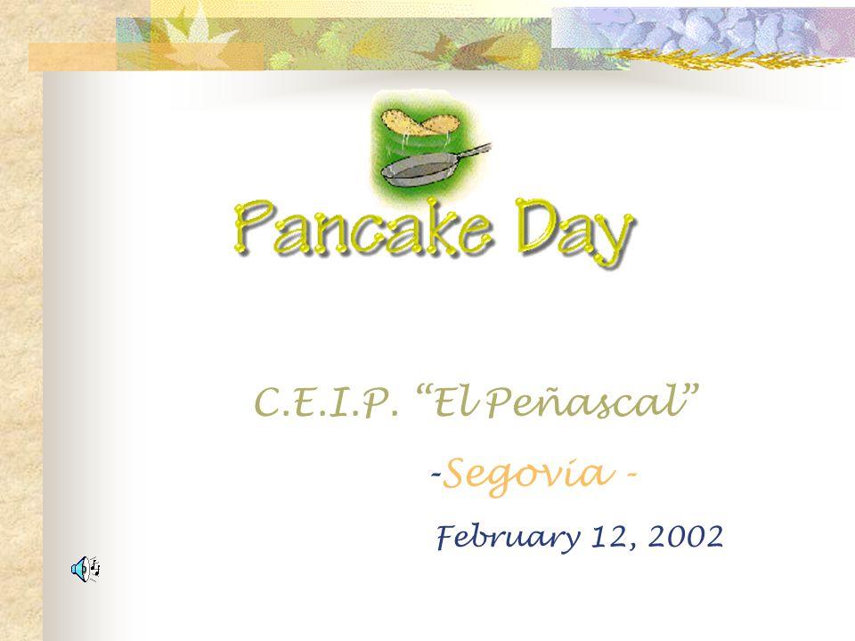 C.E.I.P. El Peñascal -Segovia - February 12, 2002
