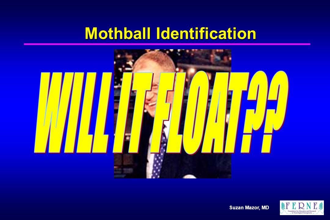 Suzan Mazor, MD Mothball Identification