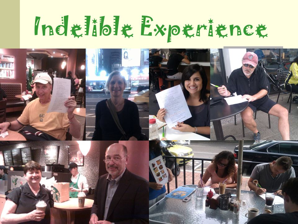 Indelible Experience