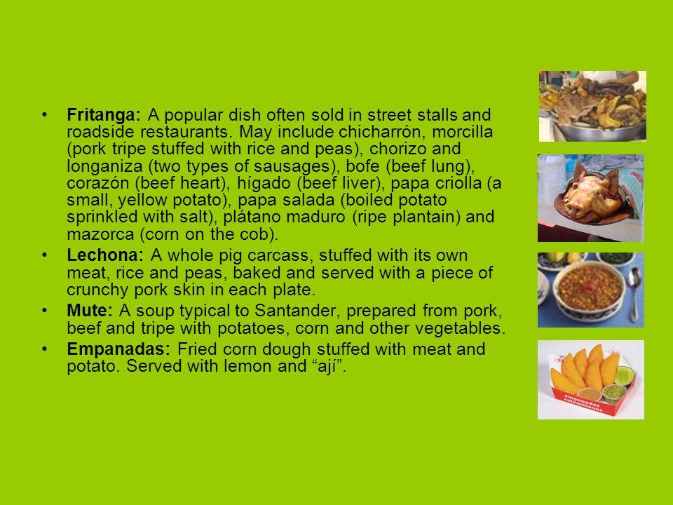 Fritanga: A popular dish often sold in street stalls and roadside restaurants.