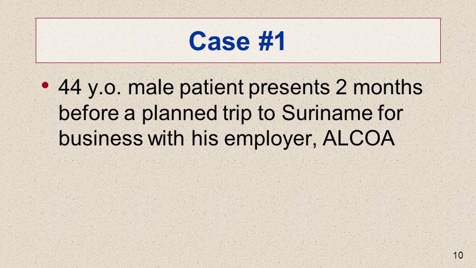 Case #1 44 y.o.