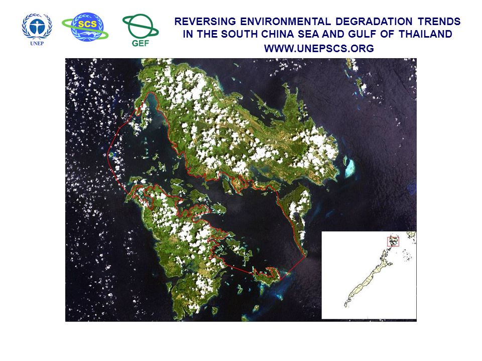 REVERSING ENVIRONMENTAL DEGRADATION TRENDS IN THE SOUTH CHINA SEA AND GULF OF THAILAND WWW.UNEPSCS.ORG Catch monitoring data from various gears catching rabbit fish in Danajon Bank from May to July 2004 new moon Closed Season for rabbit fish, Siganus canaliculatus