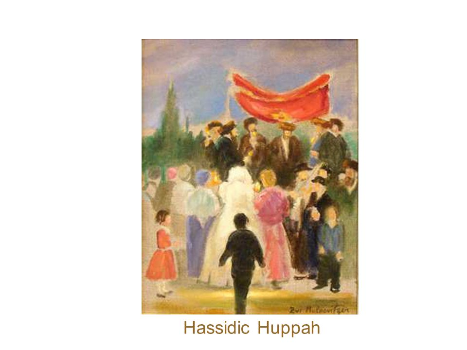 Going to the Huppah