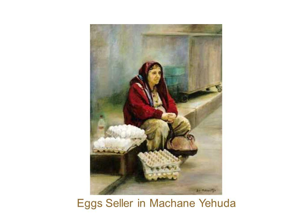 Eggs Seller in Machane Yehuda