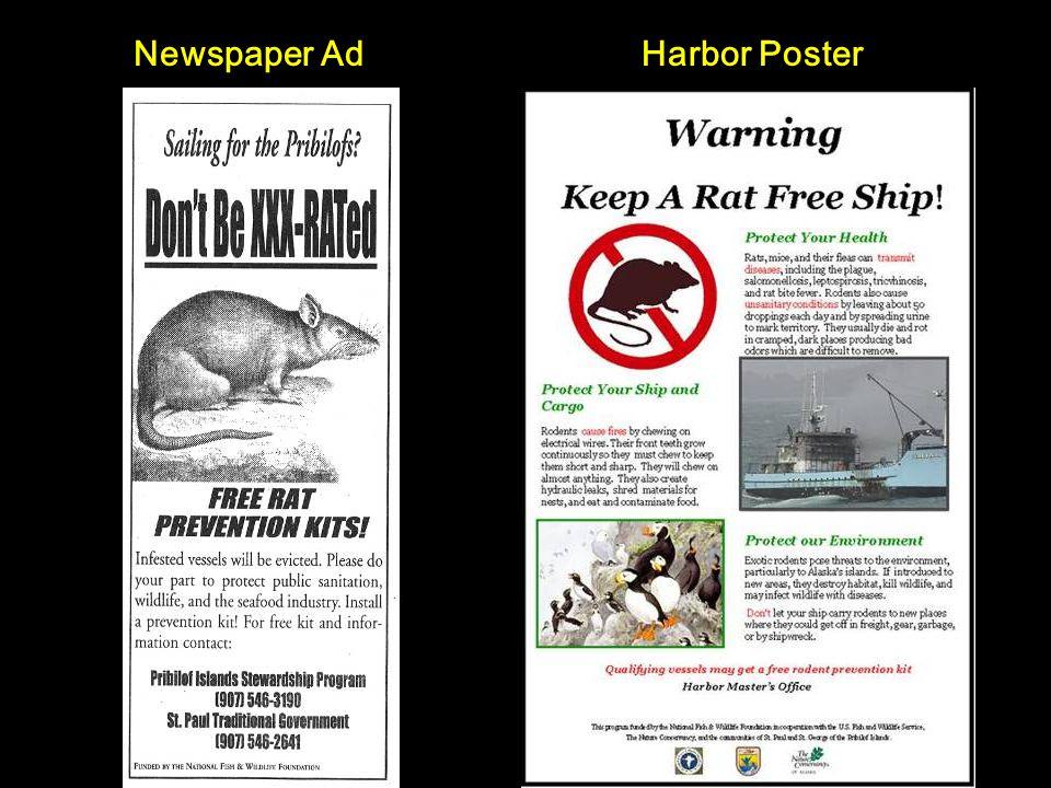 Harbor PosterNewspaper Ad