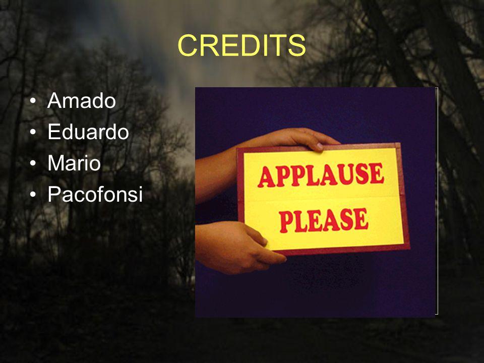 CREDITS Amado Eduardo Mario Pacofonsi
