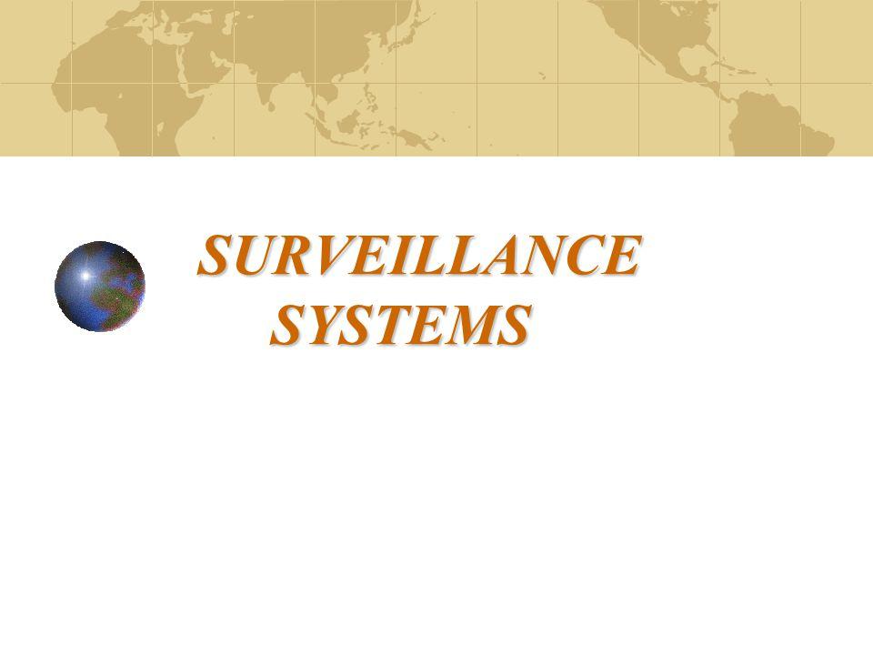 SURVEILLANCE SYSTEMS SURVEILLANCE SYSTEMS