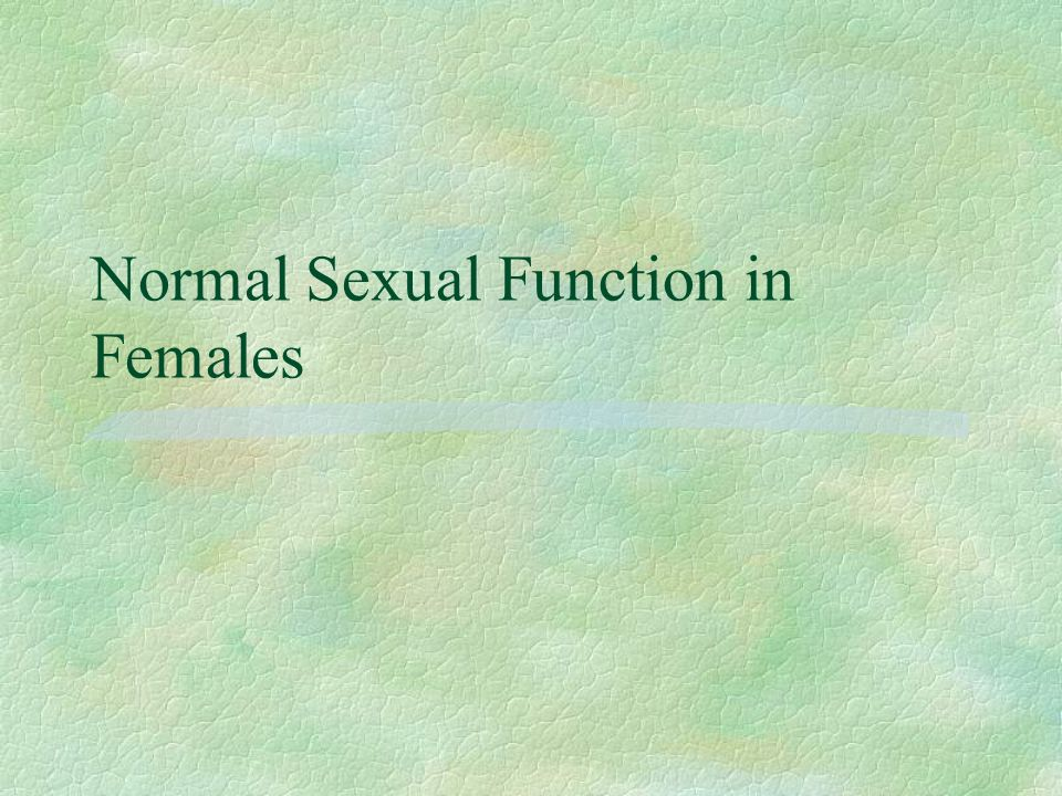 SCI and sexual function in Males