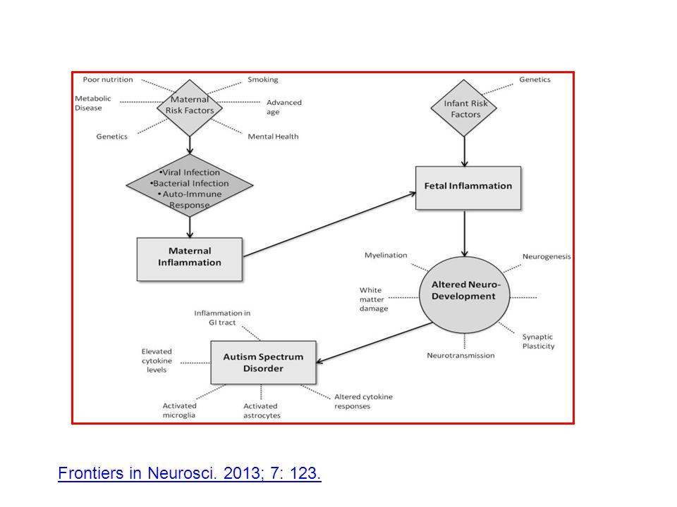 Frontiers in Neurosci. 2013; 7: 123.