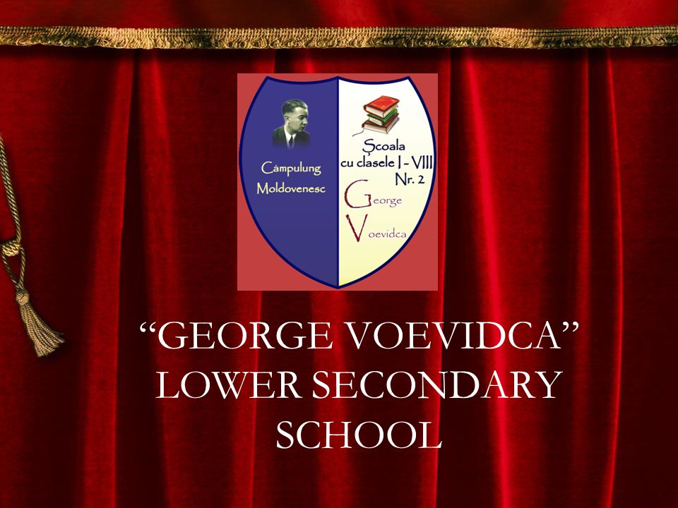GEORGE VOEVIDCA LOWER SECONDARY SCHOOL