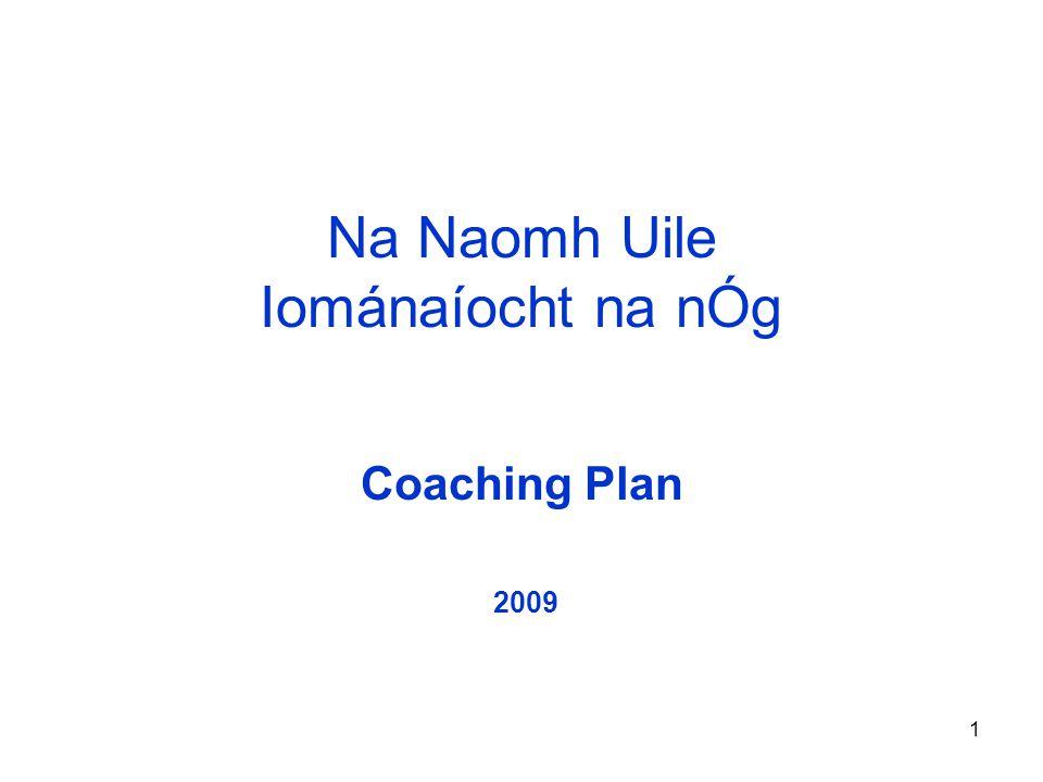 1 Na Naomh Uile Iománaíocht na nÓg Coaching Plan 2009