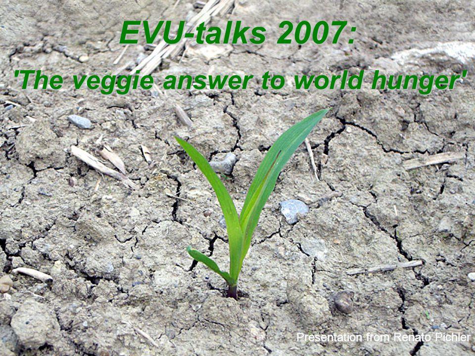 European Vegetarian Union (EVU) 3. Political initiatives