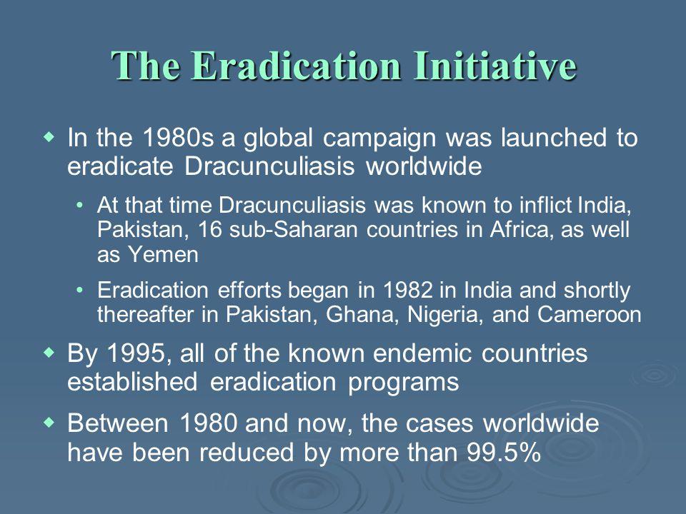 The Eradication Initiative