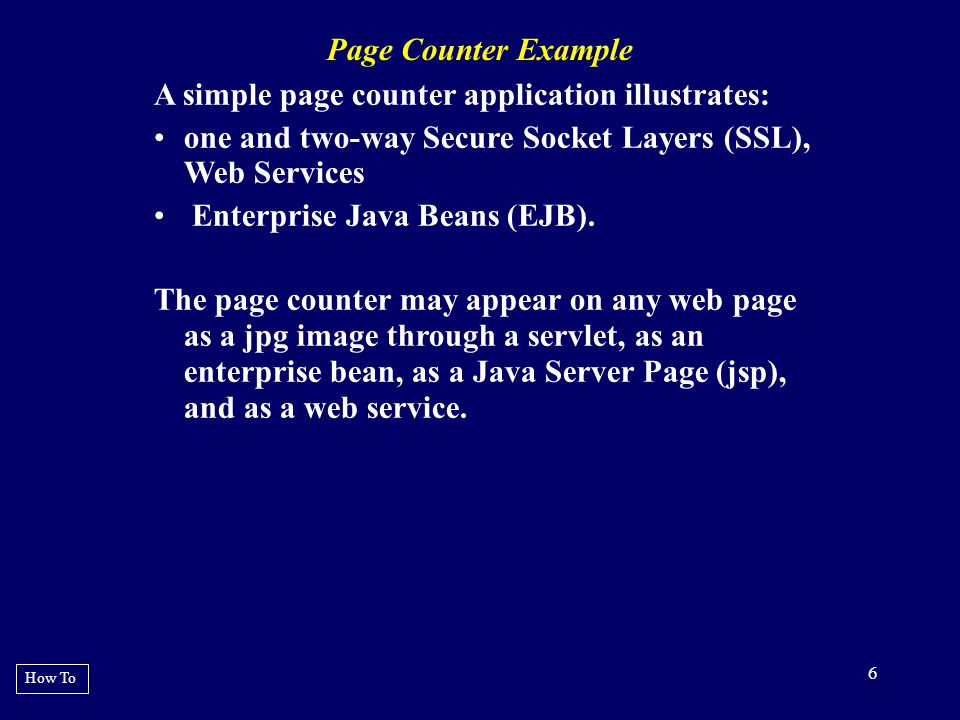 17 EXAMPLE 7 : Partial jboss-service.xml file How To - ${user.home}/pkg/certs/server.keysto re changeit ${user.home}/pkg/certs/trusted.keys tore changeit