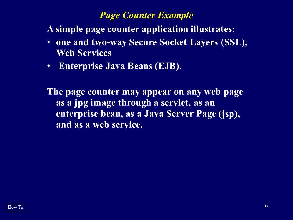 27 EXAMPLE 14 : One-way SSL Execution java -classpath.:$CP - Djavax.net.ssl.trustStore=/home/scott/pkg/cert s/trusted.keystore \ Djavax.net.ssl.trustStorePassword=changeit \ breit.test.webservice.CountTest2 https://localhost:8443/breitEJB/CountMgrBea n2EndpointPort?wsdl http://count.client.ejb.breit testArray Rationale