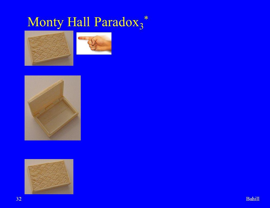 Bahill32 Monty Hall Paradox 3 *