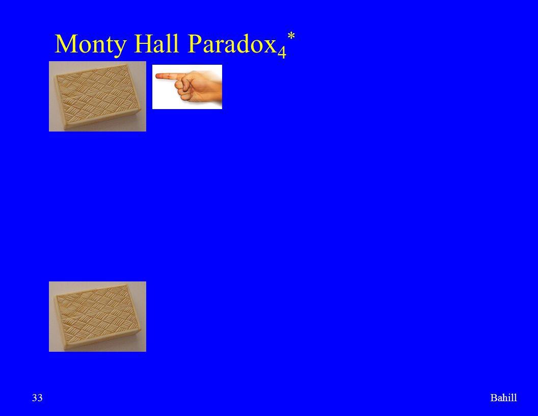 Bahill33 Monty Hall Paradox 4 *