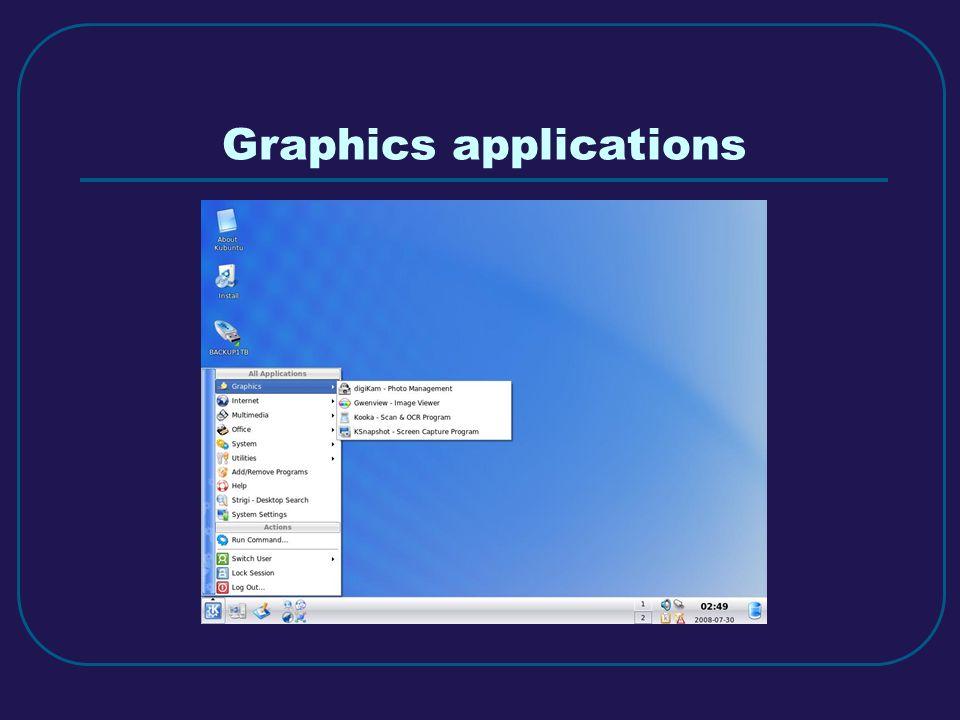 Graphics applications