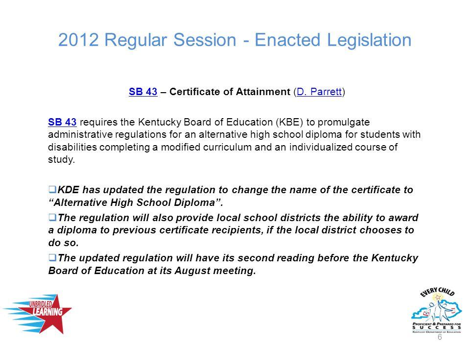 2012 Regular Session - Enacted Legislation SB 95SB 95 – Summer Learning Camps (M.