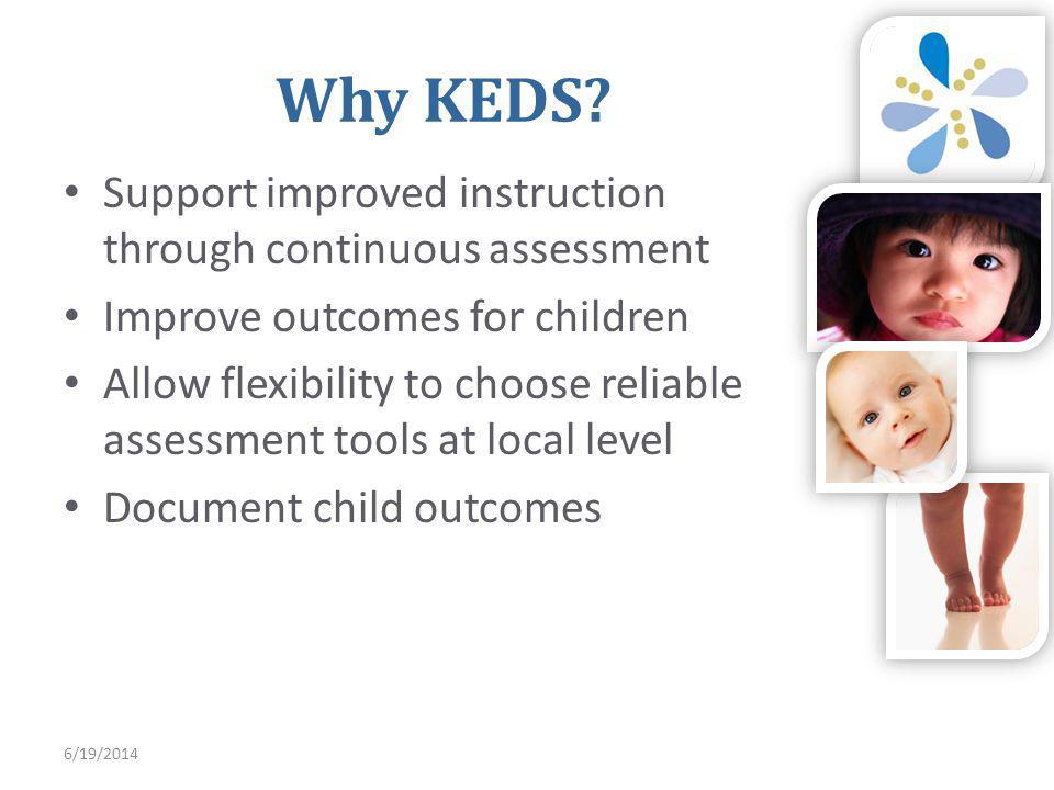 6/19/2014 Why KEDS.