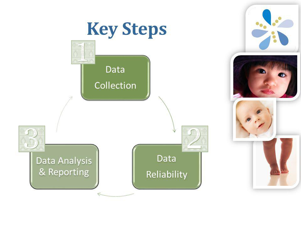 Data Collection Data Reliability Data Analysis & Reporting Key Steps