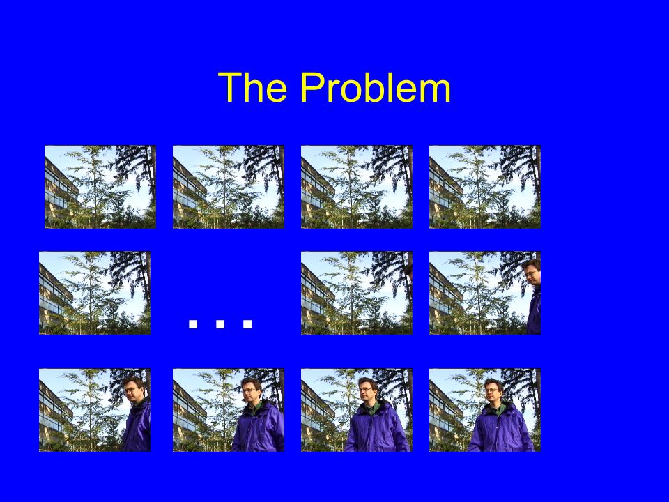 The Problem …