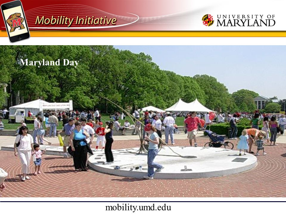mobility.umd.edu Maryland Day