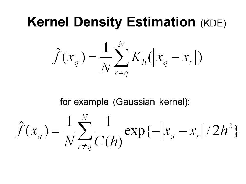 Kernel Density Estimation (KDE) for example (Gaussian kernel):