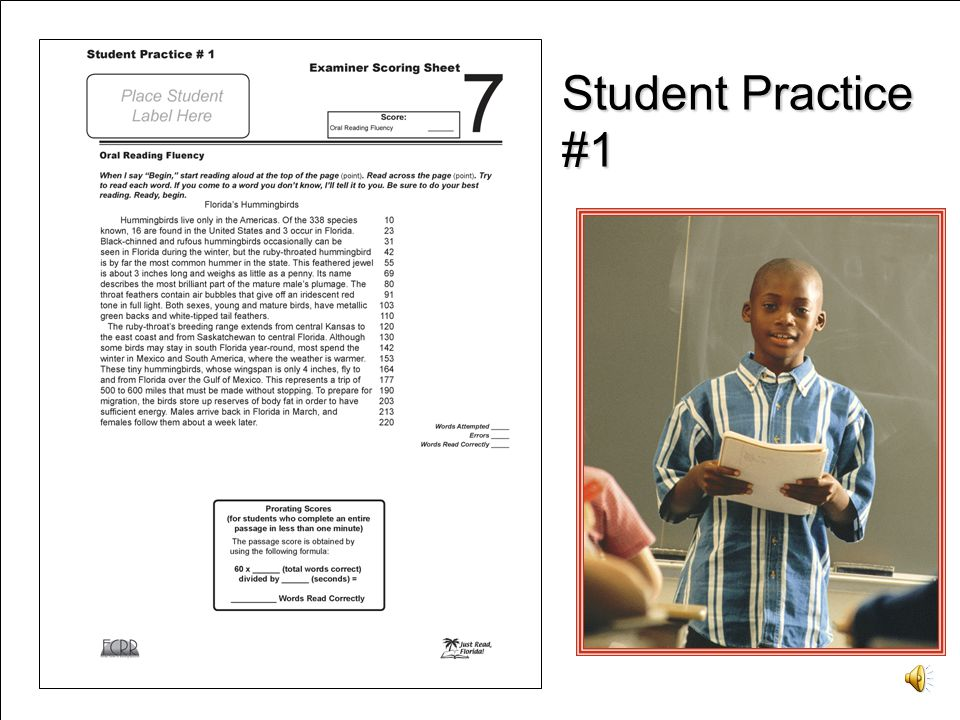 Video Clip Student Practice #1