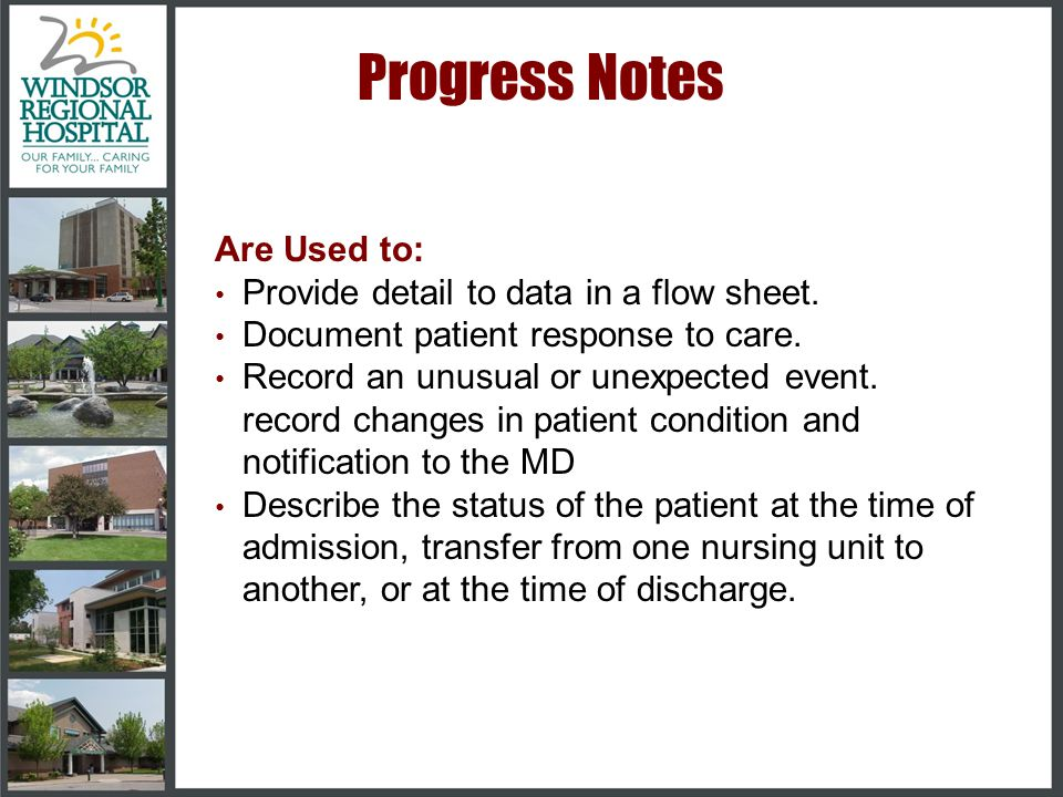 Do's •Charting on the flow sheets should be done as the care is delivered or patient data observed •Develop assessment parameters that have meaning to