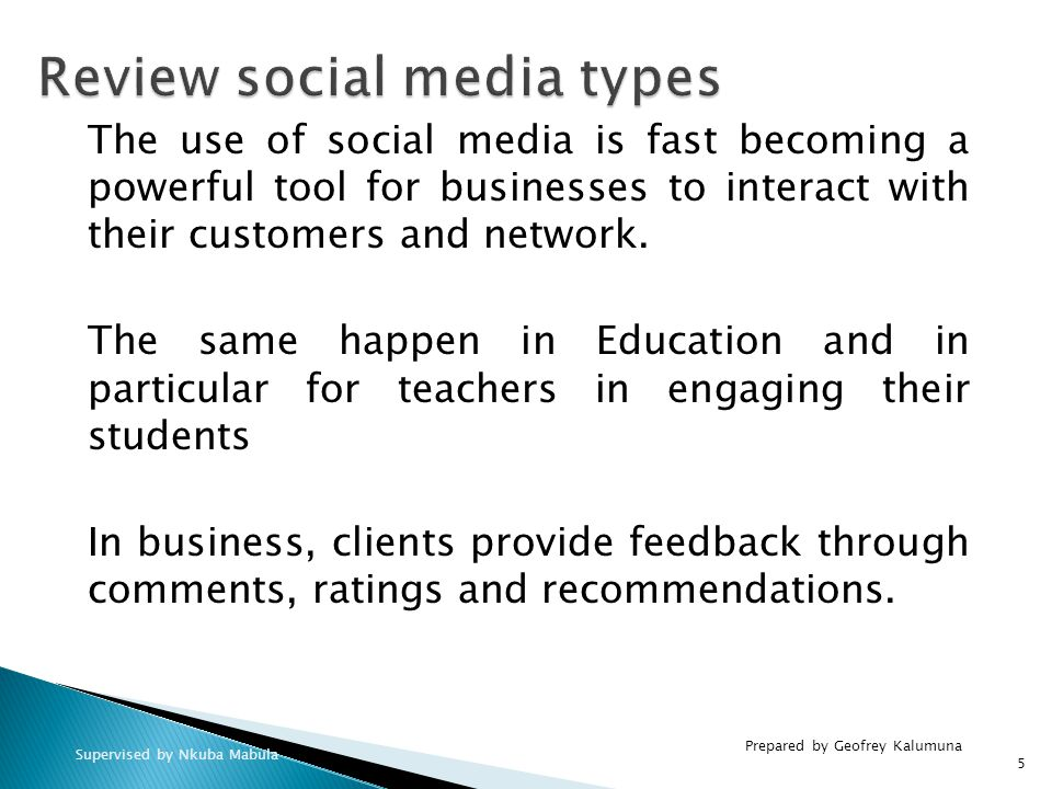 The use of social media is fast becoming a powerful tool for businesses to interact with their customers and network.