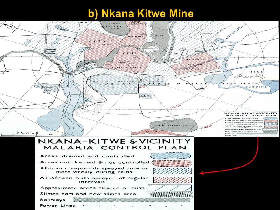 b) Nkana Kitwe Mine