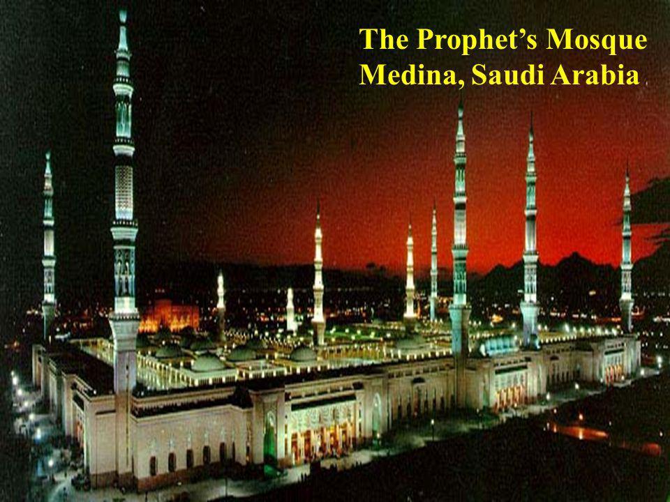 The Prophet's Mosque Medina, Saudi Arabia