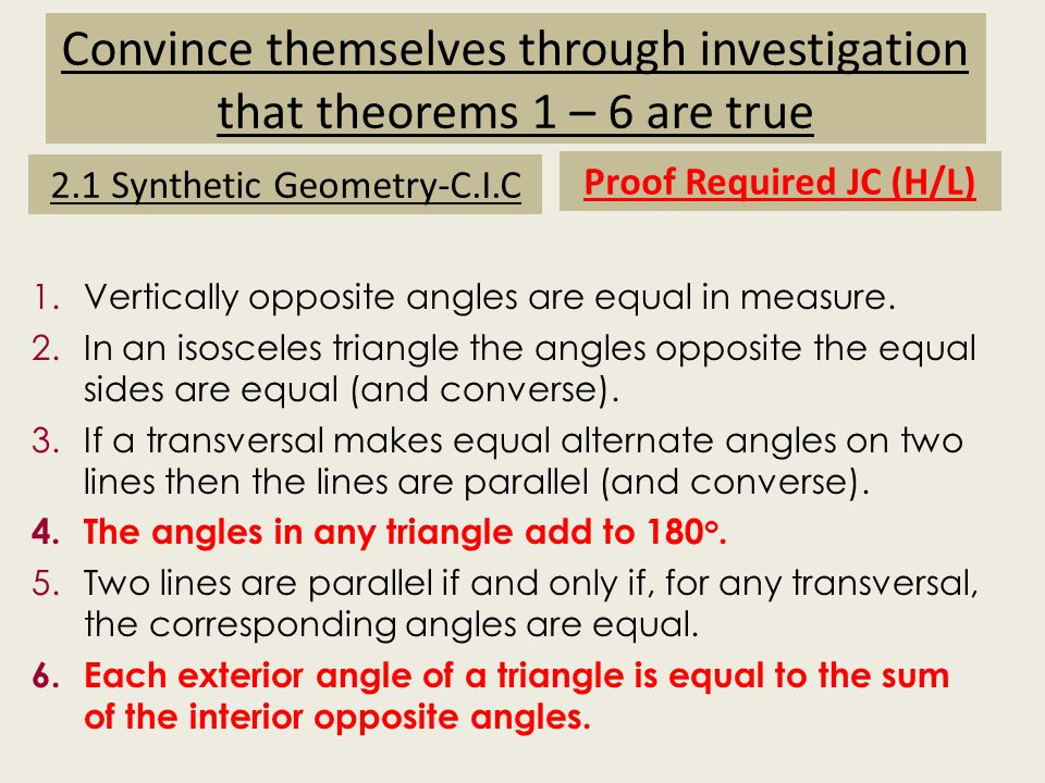 Images of Geostrips (C.I.C) Vertically opposite angles are equal in measure.